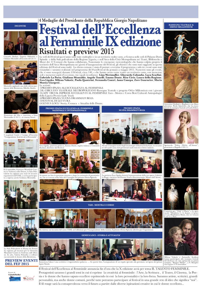 Reportage Festival 2014 e Anticipazioni 2015 copy
