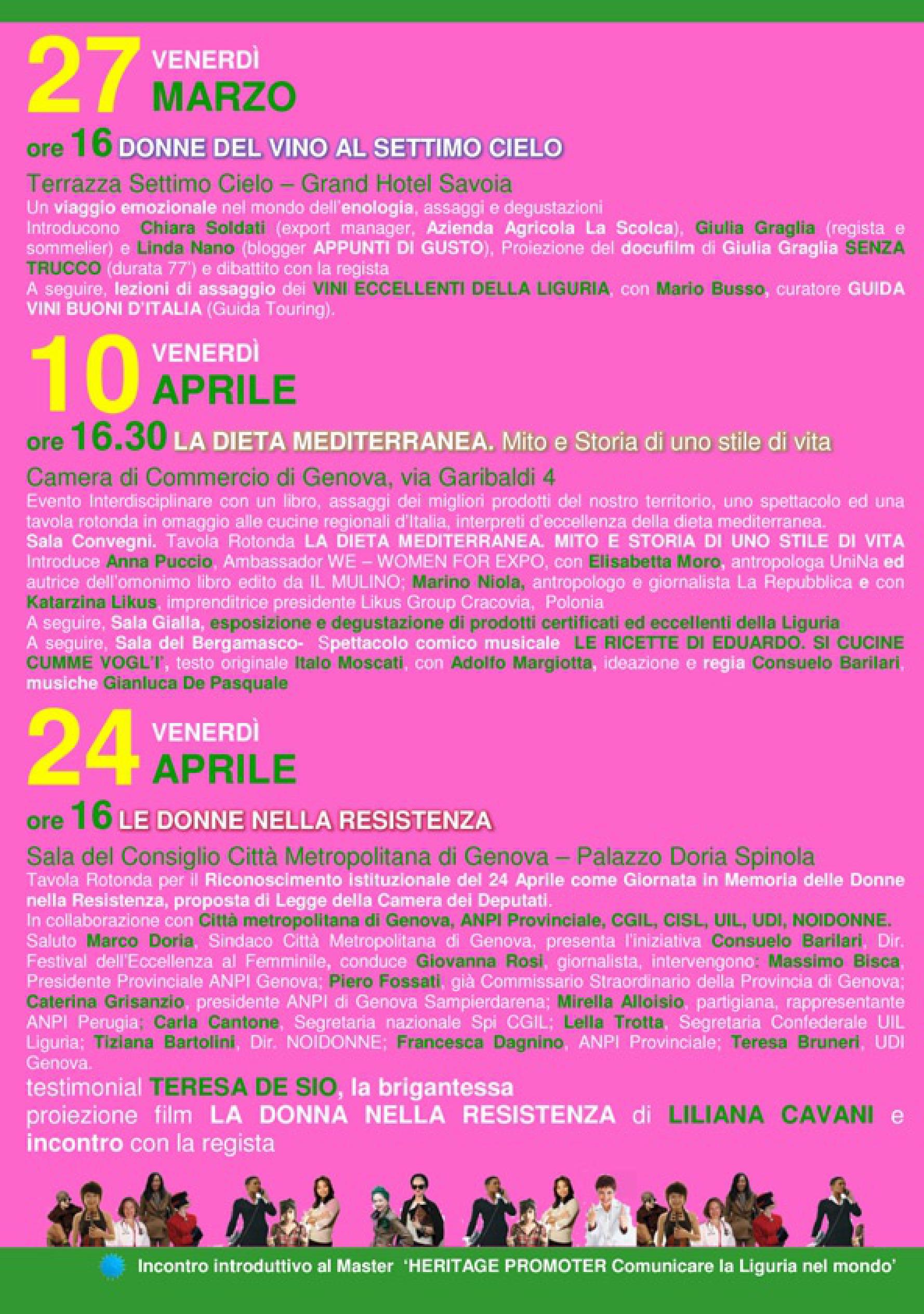 DONNE VERSO L'EXPO 02